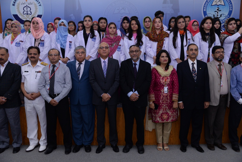 BUM&DC Welcomes The 5th Batch Of BDS – Bahria University